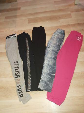 Spodnie,getry ,bluzki 116-128