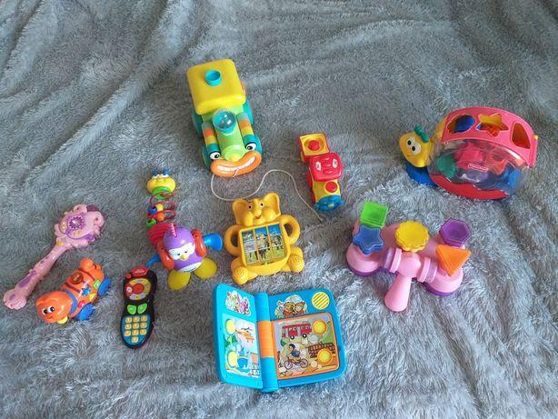 Zabawki dla 1-3 latka 11 sztuk, sprawne.