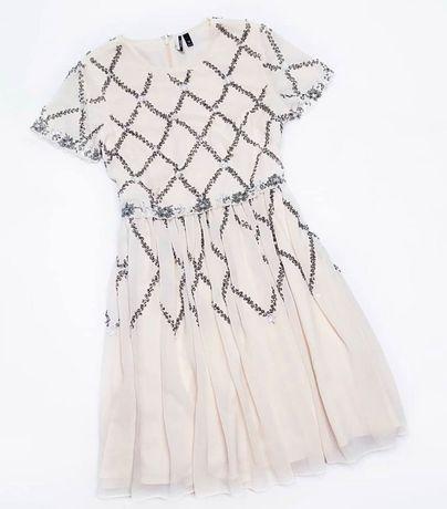Платье  Topshop шикарное дорогое шифоновое h&m zara