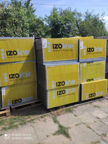 Styropian grafitowy IZOLINE Fasada pasywna Premium  EPS 031 12 CM
