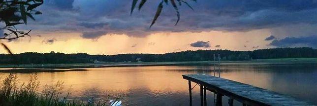Przepiękna działka budowlana Mazury nad dwoma jeziorami /Rezerwacja