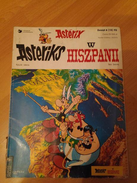 Komiks Asteriks w Hiszpanii