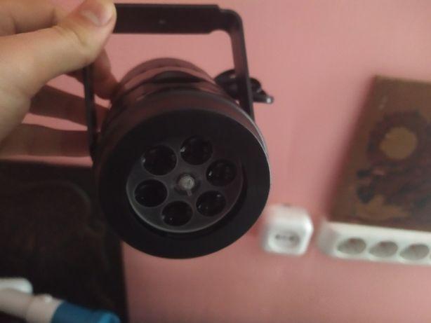 Лазерный проектор Новогодние фигуры W886-3