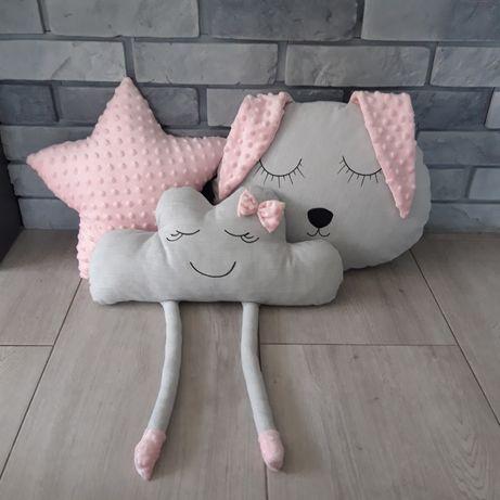 Poduszki minky bawełna