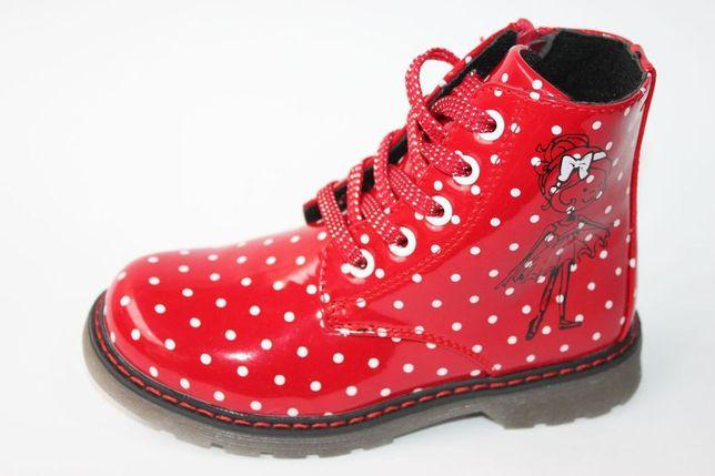 Демисезонные ботинки для девочки р. 30, 32