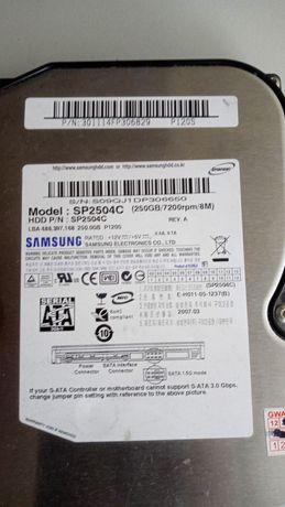 Sprzedam dysk HDD Samsung 250 GB