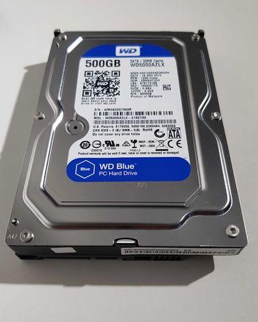 HDD 500Gb WD Blue, SATA III, RPM-7200