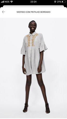 Túnica/vestido Zara