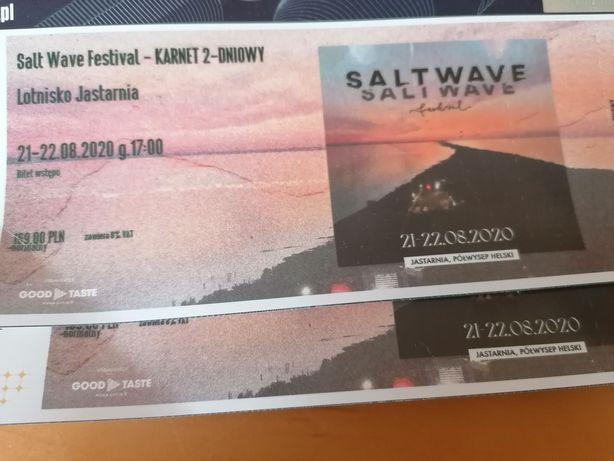 2 Bilety, karnety SALT WAVE FESTIVAL 2 dni