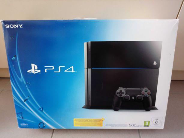 Sony Playstation 4, 500 gb + pad + gra, ps4