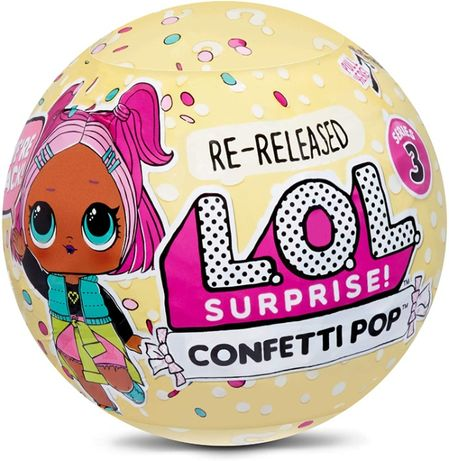 Кукла L.O.L Surprise Confetti Pop перевыпуск Showbaby