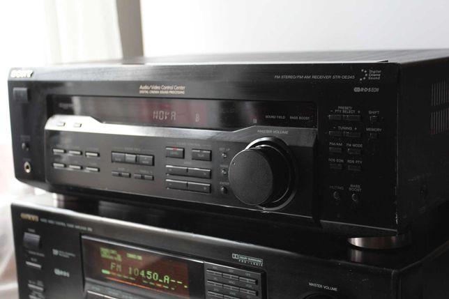 Amplituner kina domowego SONY STR DE 245 duza moc 100W
