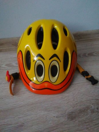 Kask rowerowy dziecięcy Lazer kaczka kaczuszka 49 56