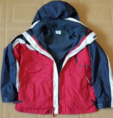 Куртка Columbia детская демисезонная 3-в-1 оригинал на мальчика 10-12