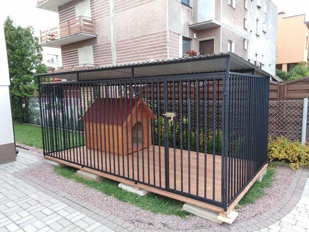 Kojec dla psa 3x3 m, klatka, boks, zagroda