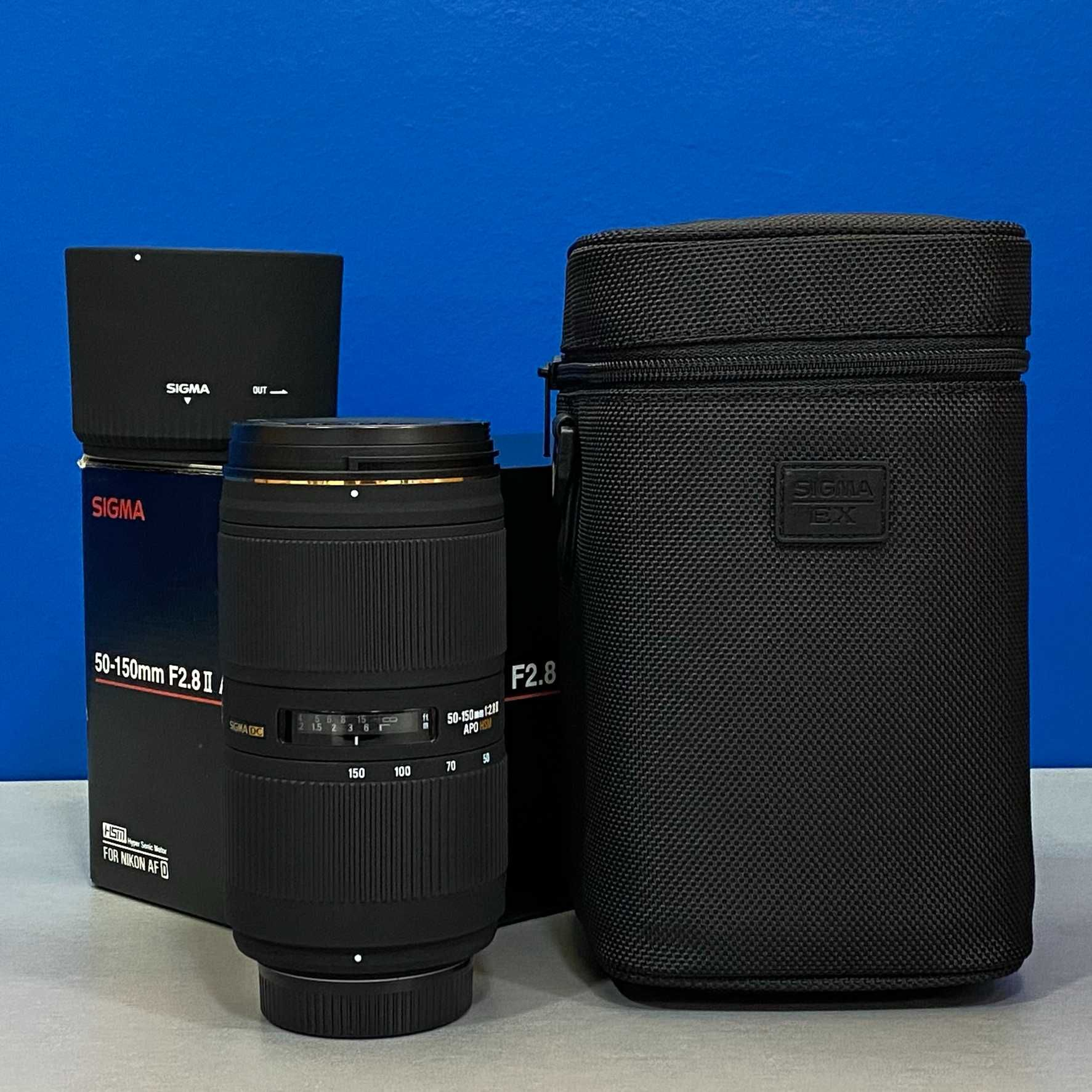 Sigma 50-150mm f/2.8 EX DC APO HSM II (Nikon)