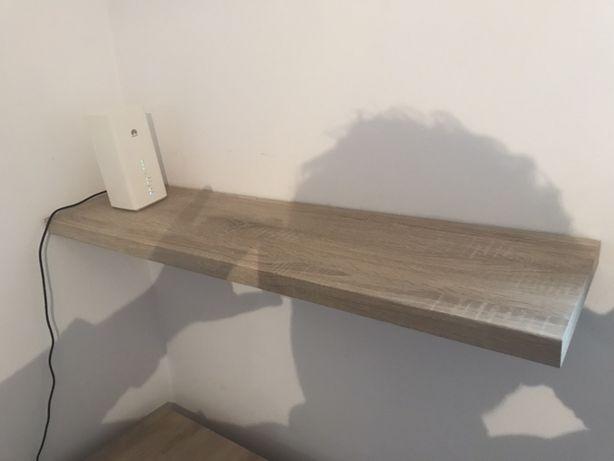 Półka wisząca, 105x25, dąb sonoma. Stan idealny