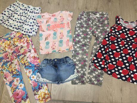 Пакет летней одежды лот на 116-122 натуральное