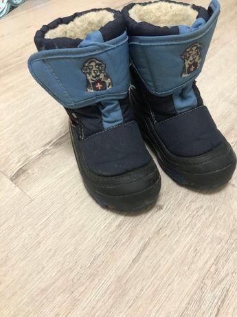 Зимние сапоги ботинки сноубутсы DEMAR 24-25 Doggy
