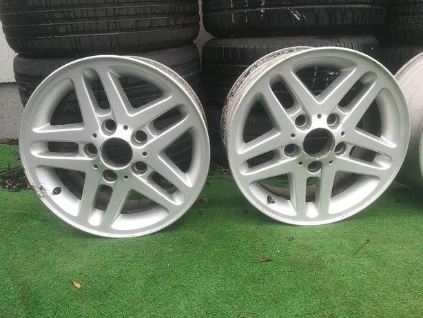 "Komplet Felg aluminiowych 15"" BMW E46 5x120"
