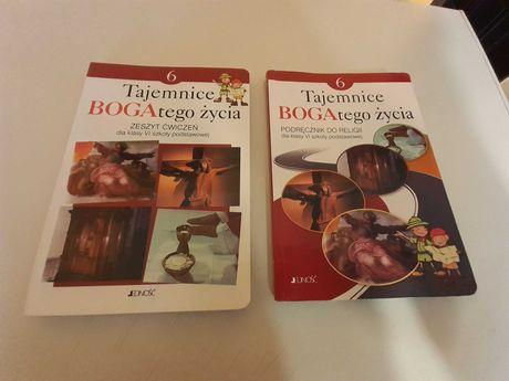 Podręcznik wraz z ćwiczeniami religia do klasy 6
