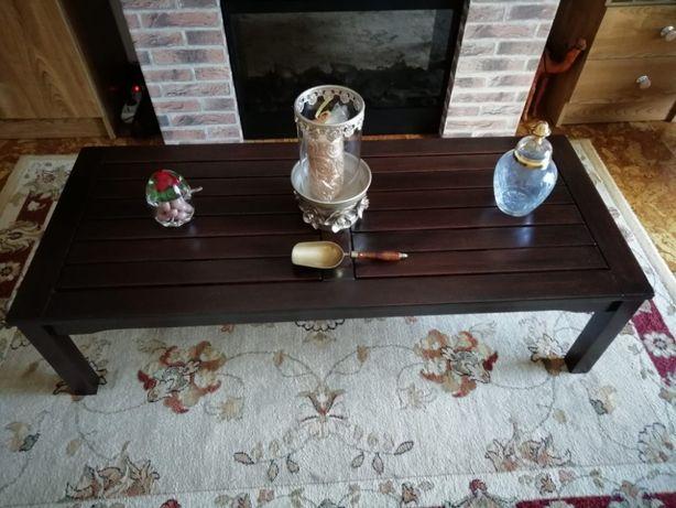 Mesa de Sala ou Jardim Terraço ou Alpendre Como Nova Madeira Tratada