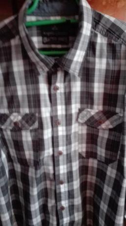 Koszula męska z długim rękawem Slim fit roz XL 43-44. NOWA.