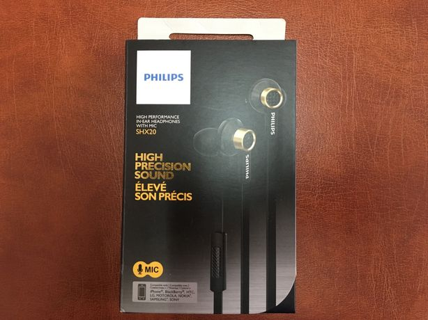 Philips SHX20 auscultação High performance Sound
