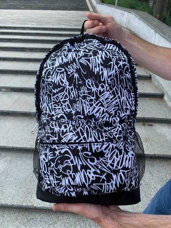Рюкзак с графити, портфель городской