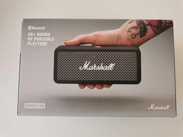 Głośnik bezprzewodowy Marshall Emberton kolor czarny nowy