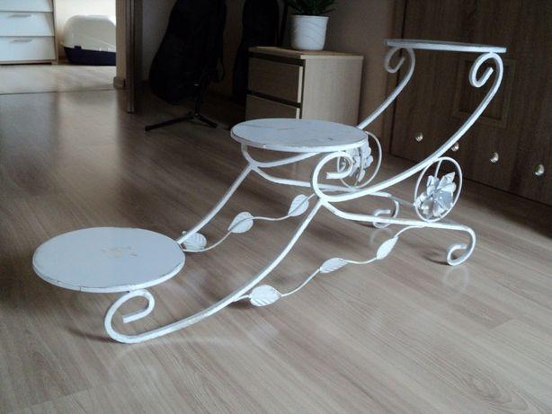 metalowy stojak na torty weselne, 3 poziomy