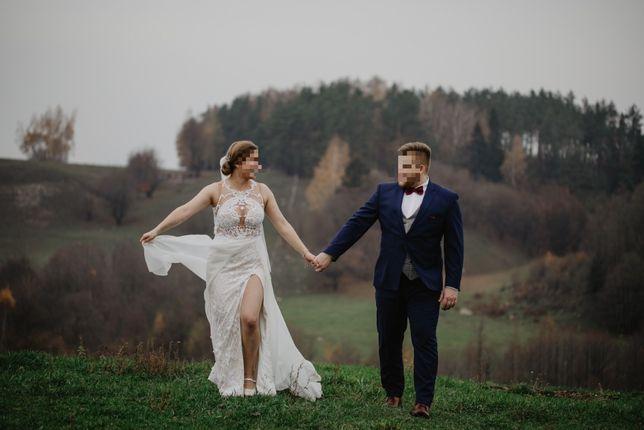 Suknia ślubna Lorenzo Rossi wzrost 165cm rozmiar 38