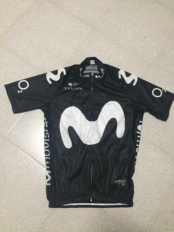 Ciclismo Jersey Movistar - Tamanho M