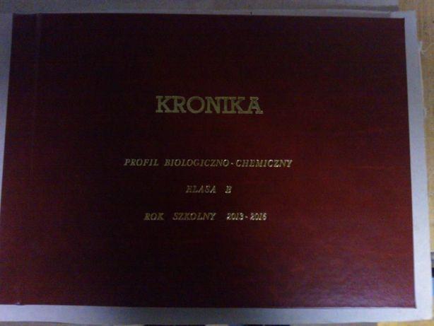 Kronika Pamiątkowa, Okolicznościowa