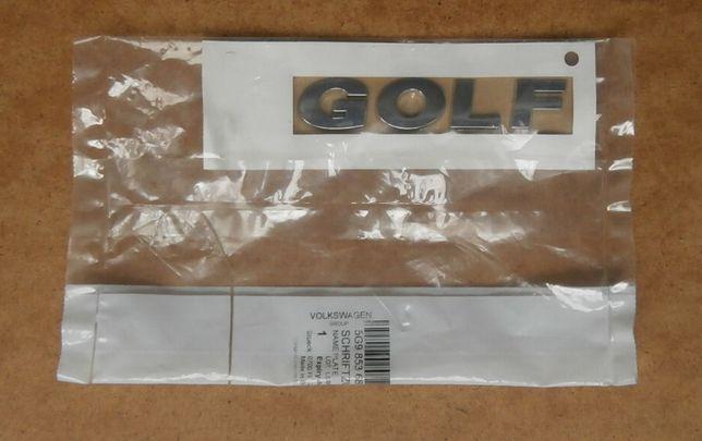 Эмблема оригинал Шильдик надпись Volkswagen Golf Фольксваген Гольф