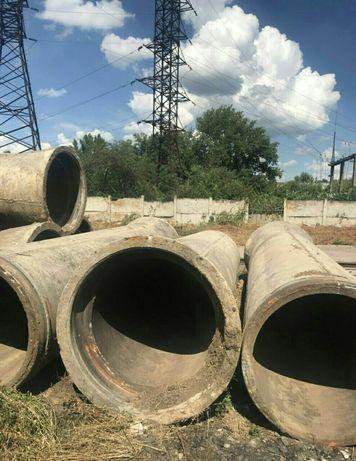 Трубы ф 1000 мм. ж/б бетонные жб железобетонные б/у. В наличии.