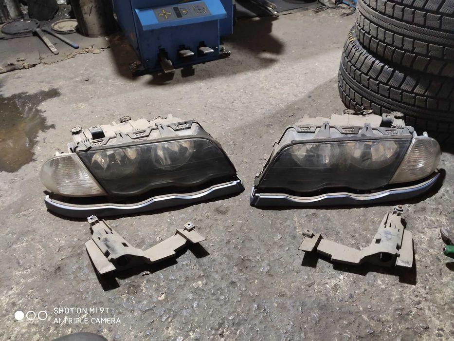 Фары БМВ Е46 e46 подиум фар повороты реснички Полтава - изображение 1