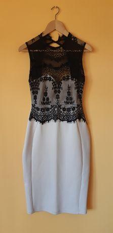 Sukienka, seksowna, elegancka, koronka