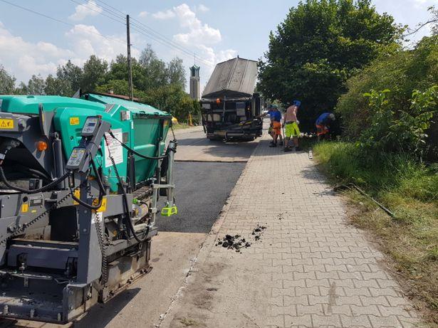 Remonty asfalt naprawa nawierzchni ślask