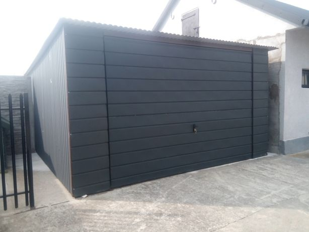 PRODUCENT Garaż blaszany wiaty bramy schowki blaszak garaże blaszaki