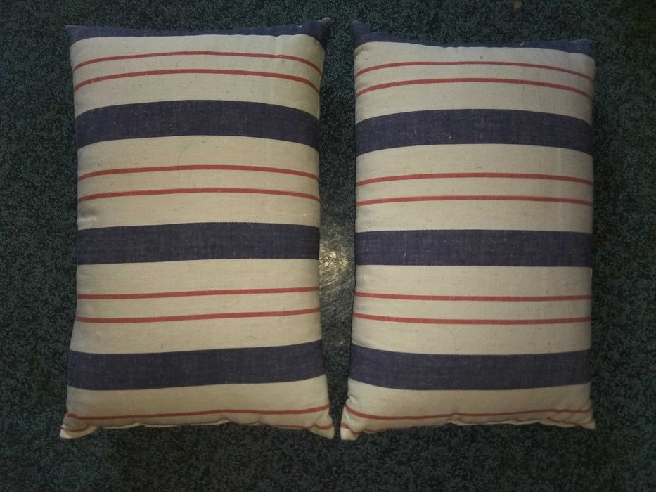 Продам подушки перьевые, 31*50 см, цена за две подушки 80 грн Харьков - изображение 1