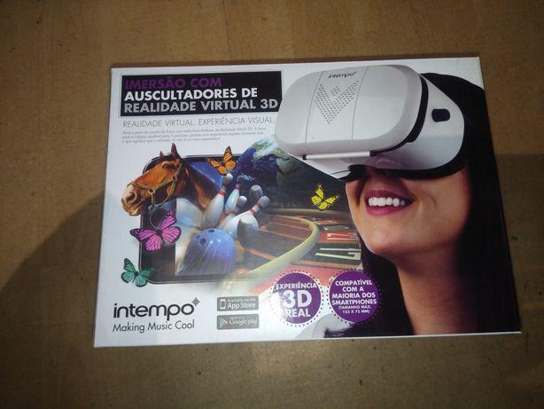 Óculos de Realidade Virtual para telemóveis (Aceito trocas)