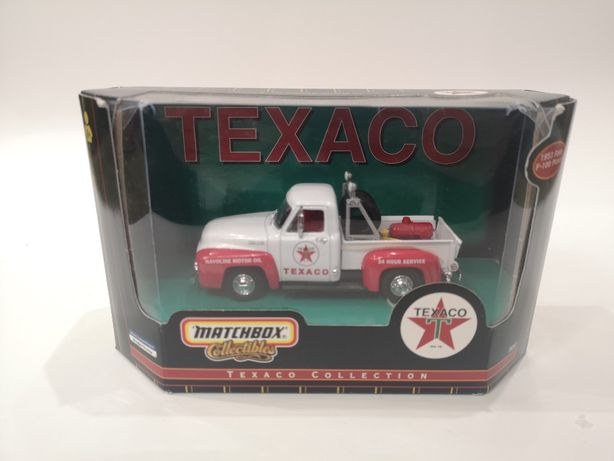 Ford F100 Pickup Texaco 1956 1:43 Matchbox Модель абсолютно новая!