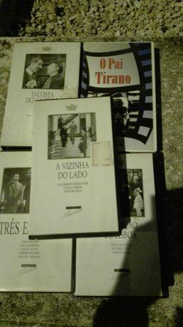 Cassetes de Video de Filmes Clássicos Imortais Portugueses