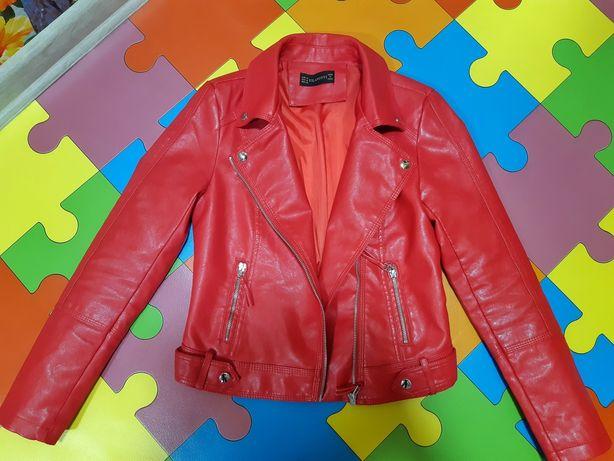 Куртка-пиджак кожзам