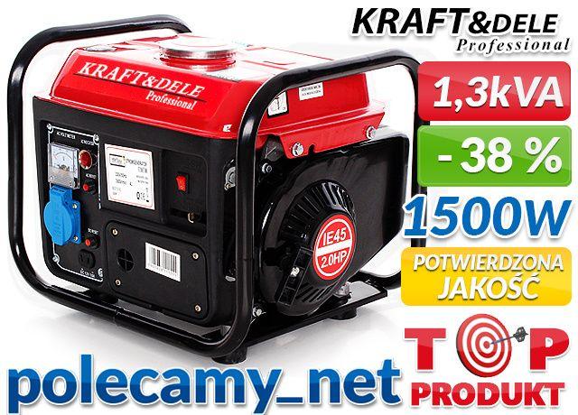 БЕНЗОГЕНЕРАТОР Tagred KraftDELE KD109 Kraftwele генератор бензиновий
