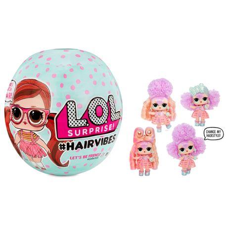 Большой LOL Surprise Hairvibes с 15 сюрпризами. Оригинал.
