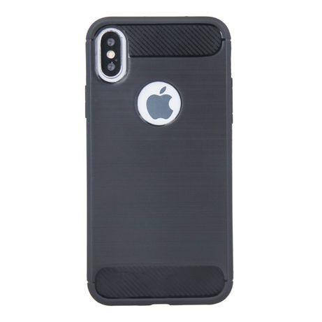 Nakładka case do iphone 6 7 8 SE plecki etui czarne Wyprzedaż