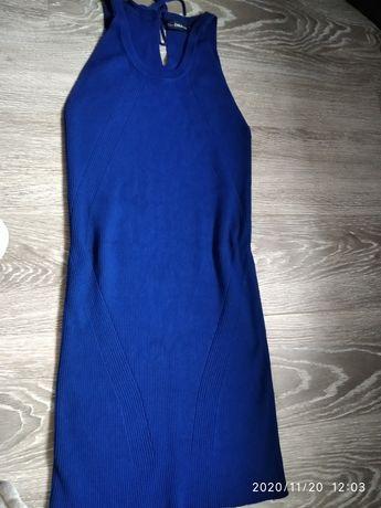 Платье Zara рубчик