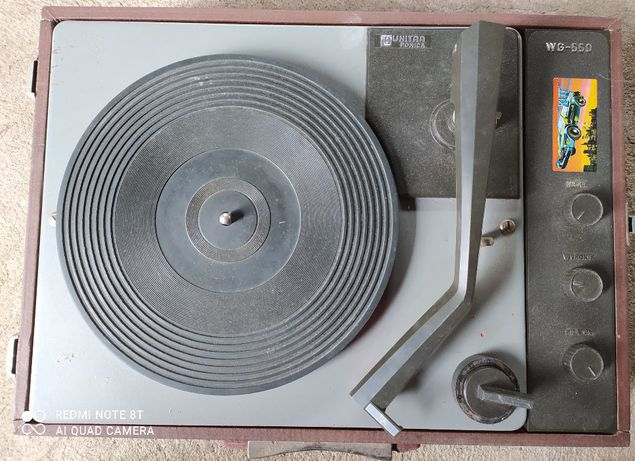 Gramofon UNITRA Fonica WG550